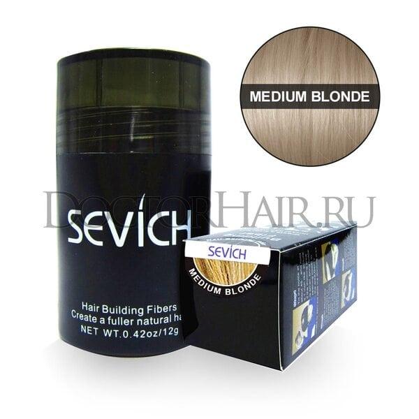 Купить Пудра загуститель для волос Sevich (средний-блонд) фото