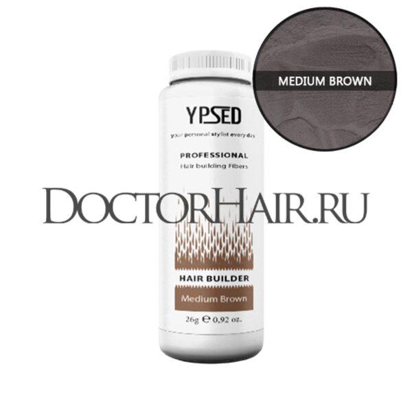 Купить Загуститель для волос Ypsed Professional (средне-коричневый) фото