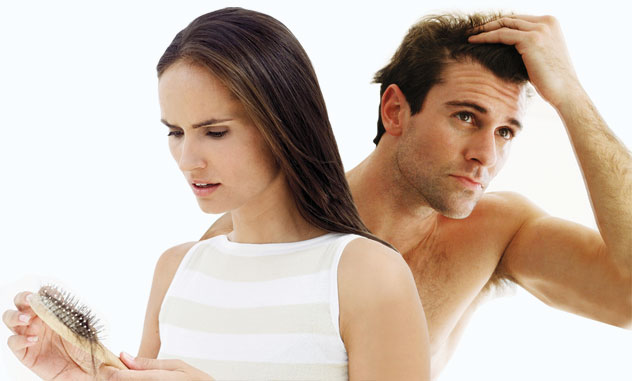 Алопецией -патологическое выпадение волос