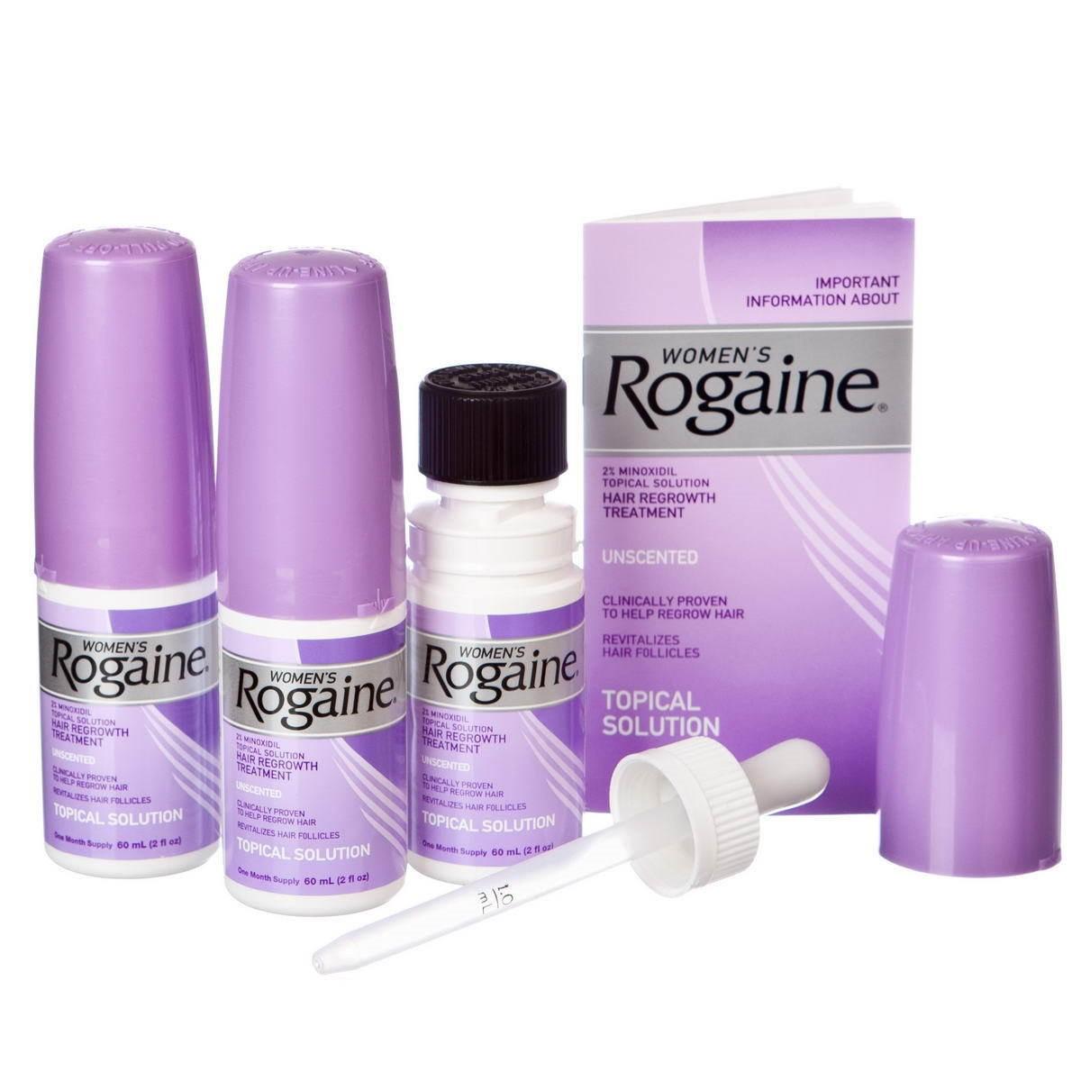 Rogaine для женщин фото
