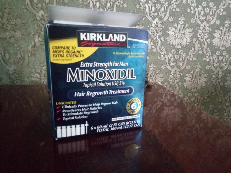 Kirkland Minoxidil для бороды фото