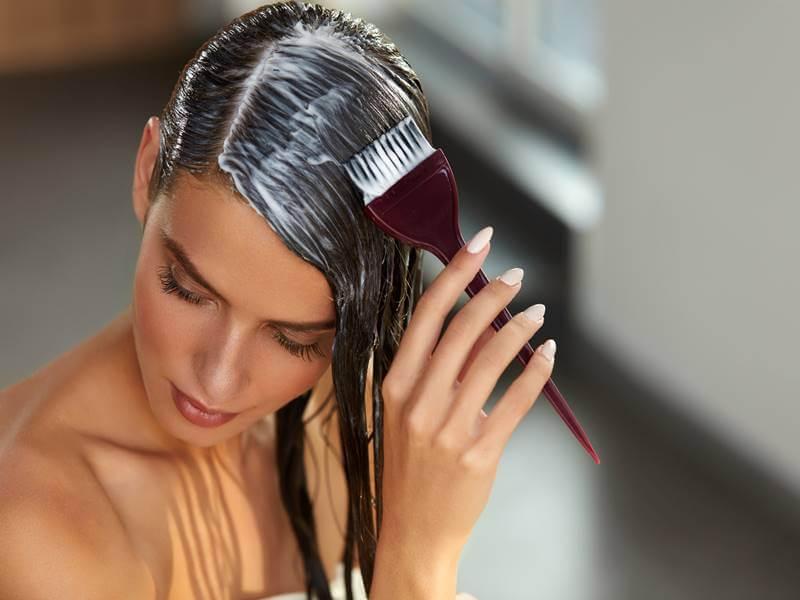 нанесение ботокса на волосы