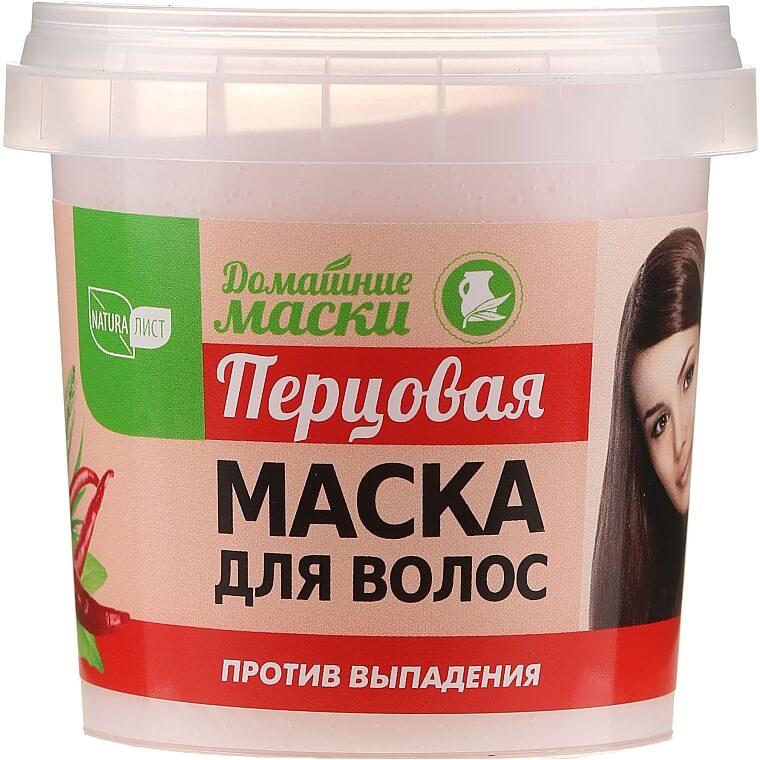 Перцовая маска Natura Лист Домашние маски