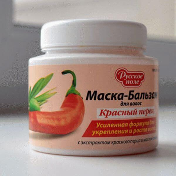 Маска-бальзам Красный перец от Русское поле